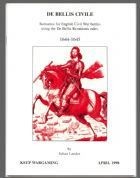 De Bellis Civile 1644-1645 English Civil War Scenarios